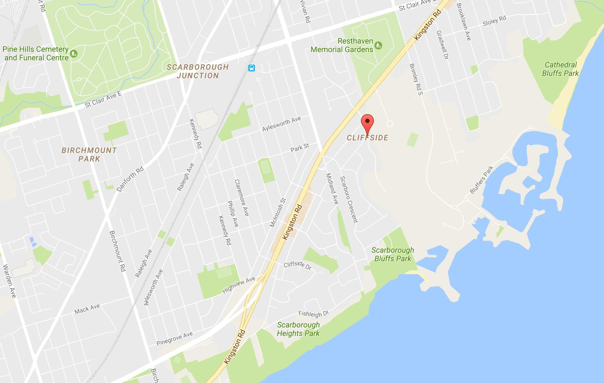Kanada Slijepa Karta About Townsville